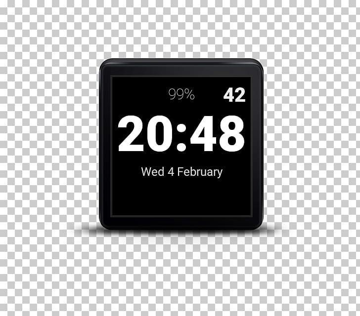 Clock face Digital clock Wear OS Alarm Clocks, clock PNG.