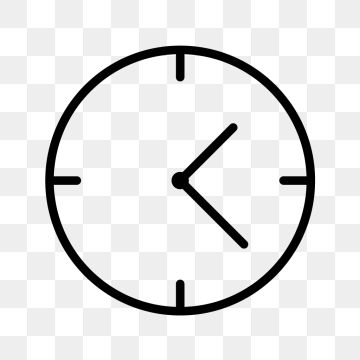 Vector Clock Icon, Alarm, Bell, Clock PNG and Vector with.