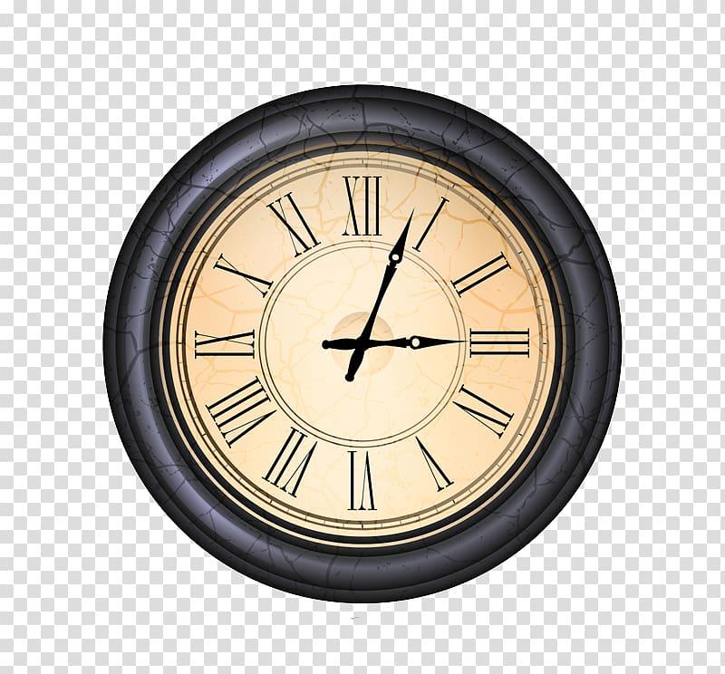 Alarm clock Euclidean Digital clock Icon, Cartoon Clock.