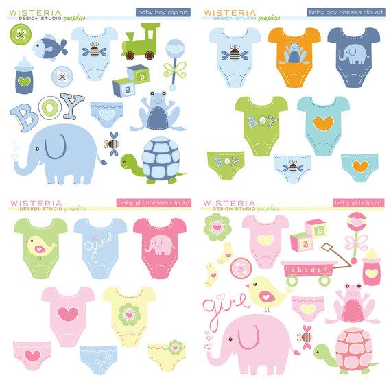 Baby Boy & Baby Girl Design Set.