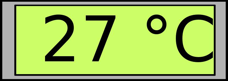 Digital display clipart #16