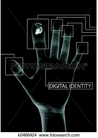 Drawings of Digital identity k0466424.