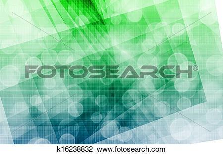 Clip Art of Digital Identity Management k16238832.