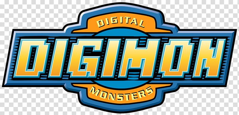 Digimon Logo, Digital Digimon Monsters logo transparent.