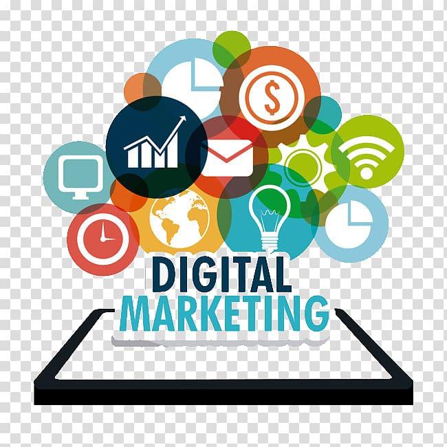 Digital Marketing logo, Web development Digital marketing.