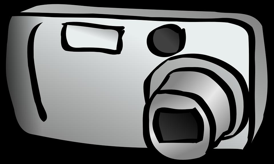 Free vector graphic: Digital Camera, Compact Camera.