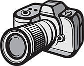 Digital camera Clip Art Vector Graphics. 29,084 digital camera EPS.