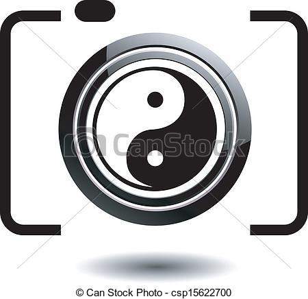 Vector Clipart of Digital Camera.