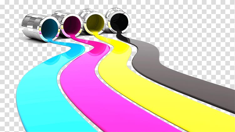 CMYK color model Paint CopiEUS, digital printing transparent.