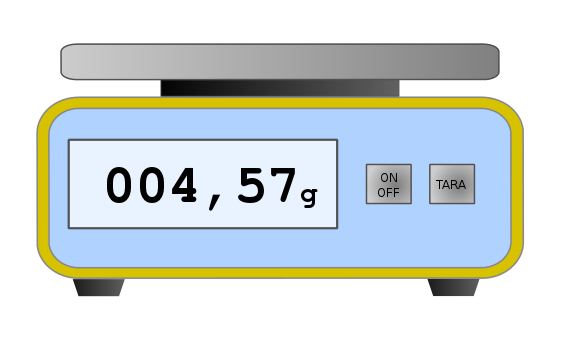 Collecting Weight Data from a Digital Scale.