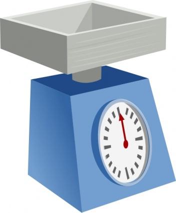 Digital Scale Clipart.