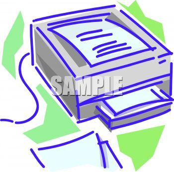 Digital Printer Scanner.