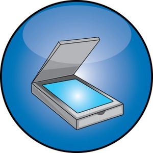 Scanner Clipart Image.