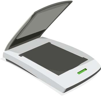 Scanner Clip Art, Vector Scanner.