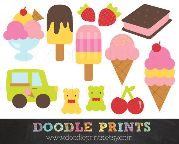 Ice Cream Clipart.