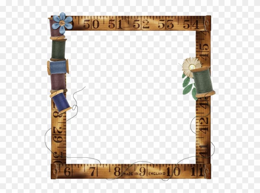 Digital Scrapbooking Frame Png Clipart (#1254581).