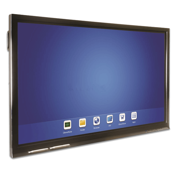 84″ Clevertouch Plus 4K Interactive Touch Screen.