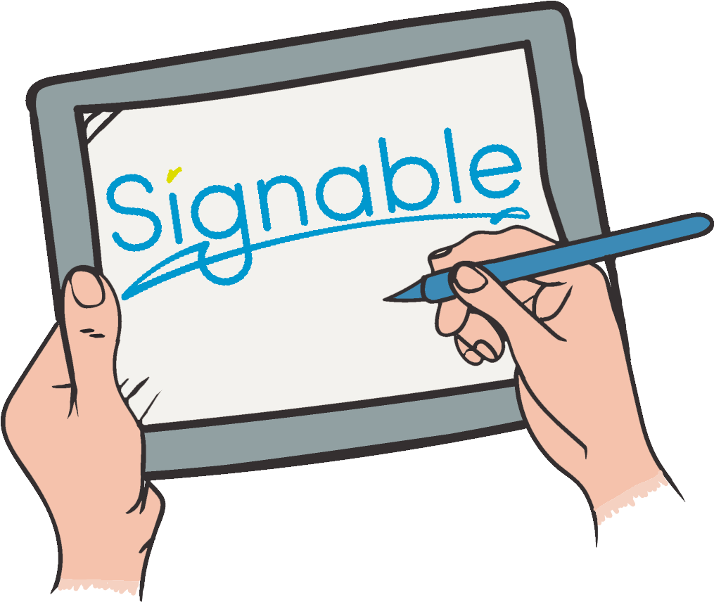 Digital Signature or Electronic Signature.