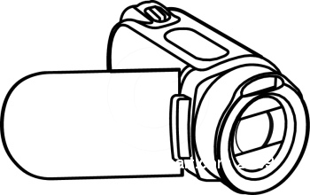 Digital video camera clipart 3.