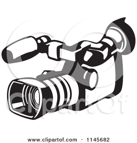 Digital Video Camera Clipart.
