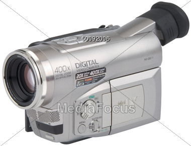 Stock Photo Digital Video Camera Clipart.