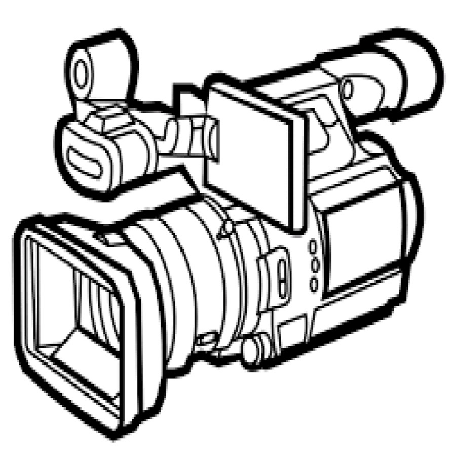 Surveillance Digital Video Clip Art.