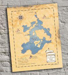 VECTOR & PNG Minnesota map digital clip art.
