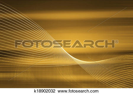 Clip Art of High Technology background concept. Digitally.