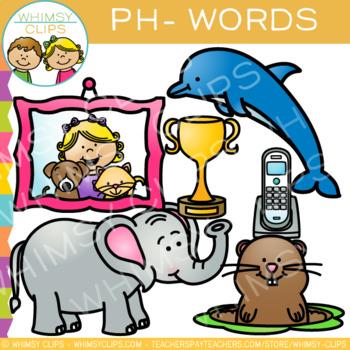 Digraphs Clip Art: PH Words Clip Art {Volume One}.