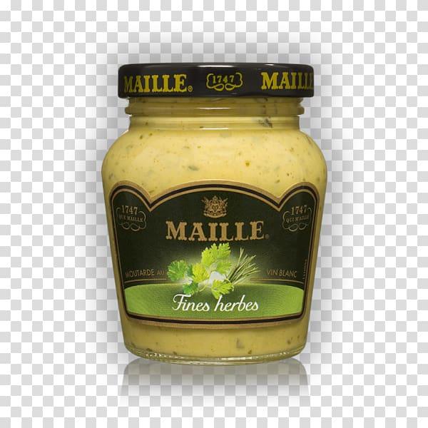 Dijon mustard Dijon mustard Vinaigrette Maille, black pepper.