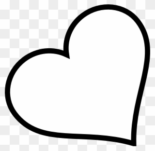 Free PNG Heart Black And White Clip Art Download.
