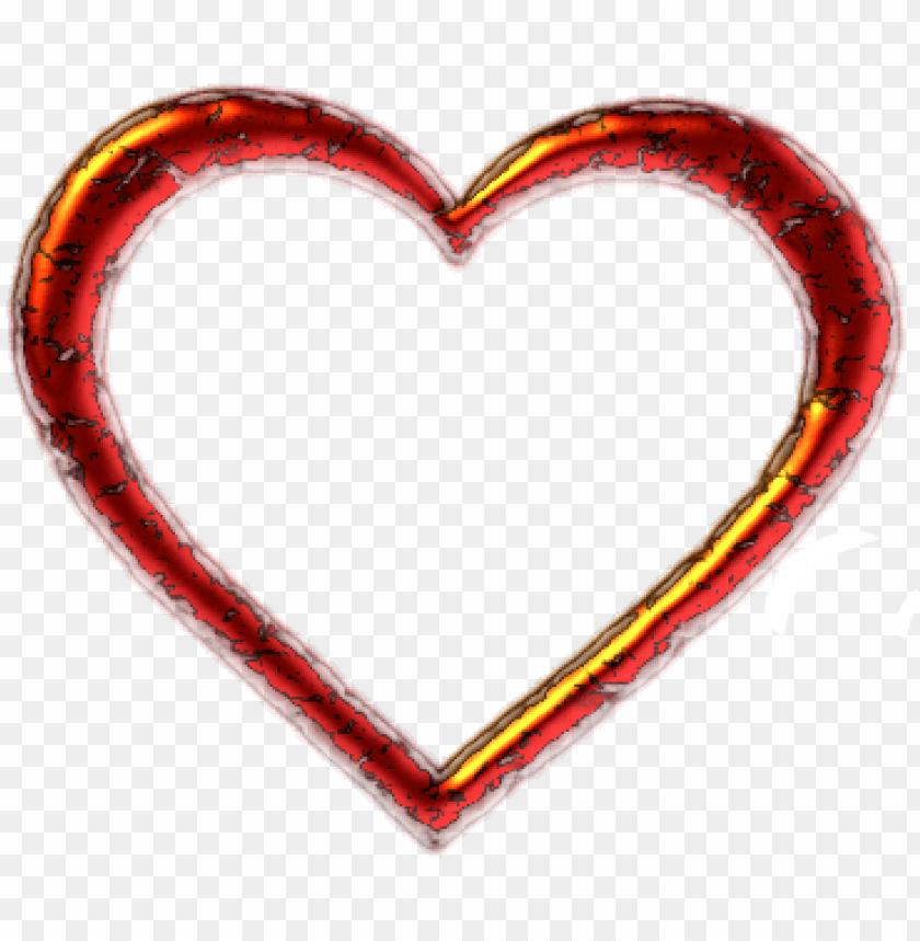heart shaped clipart plain.