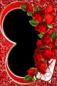 Download romantic love frames png wedding photo frames.