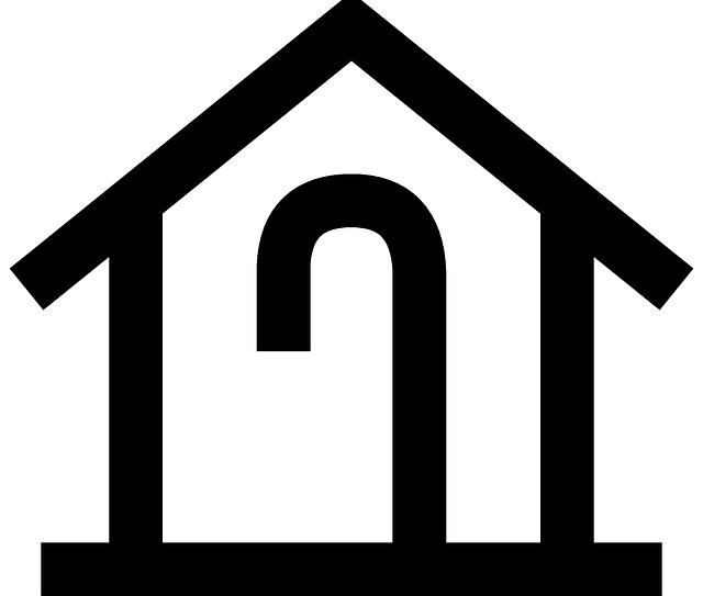 House symbols clip art