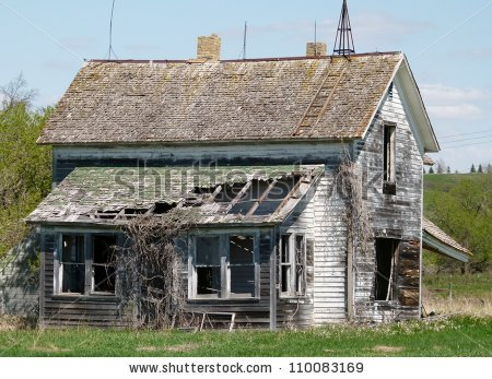 Dilapidated Building Stock Photos, Royalty.