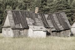 Dilapidated Old Small House Stock Photos, Images, & Pictures.