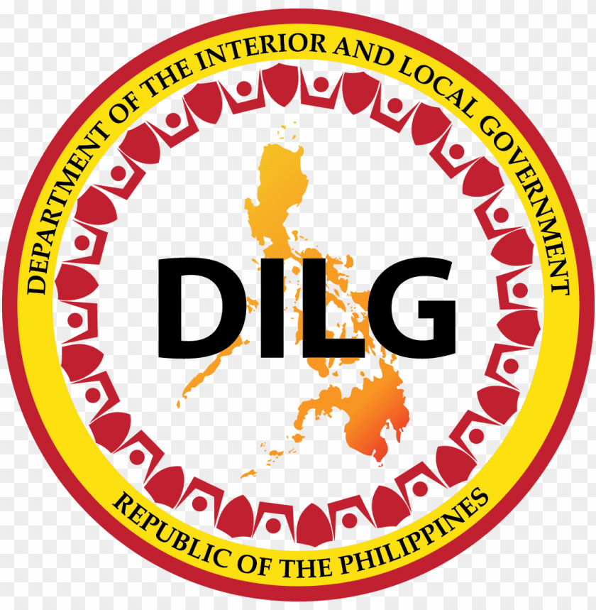 dilg logo PNG image with transparent background.