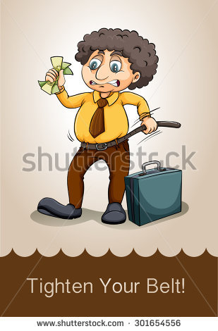 English Idiom Saying Digging Your Own Stock Vector 299033177.