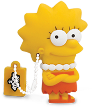 Lisa Simpson.
