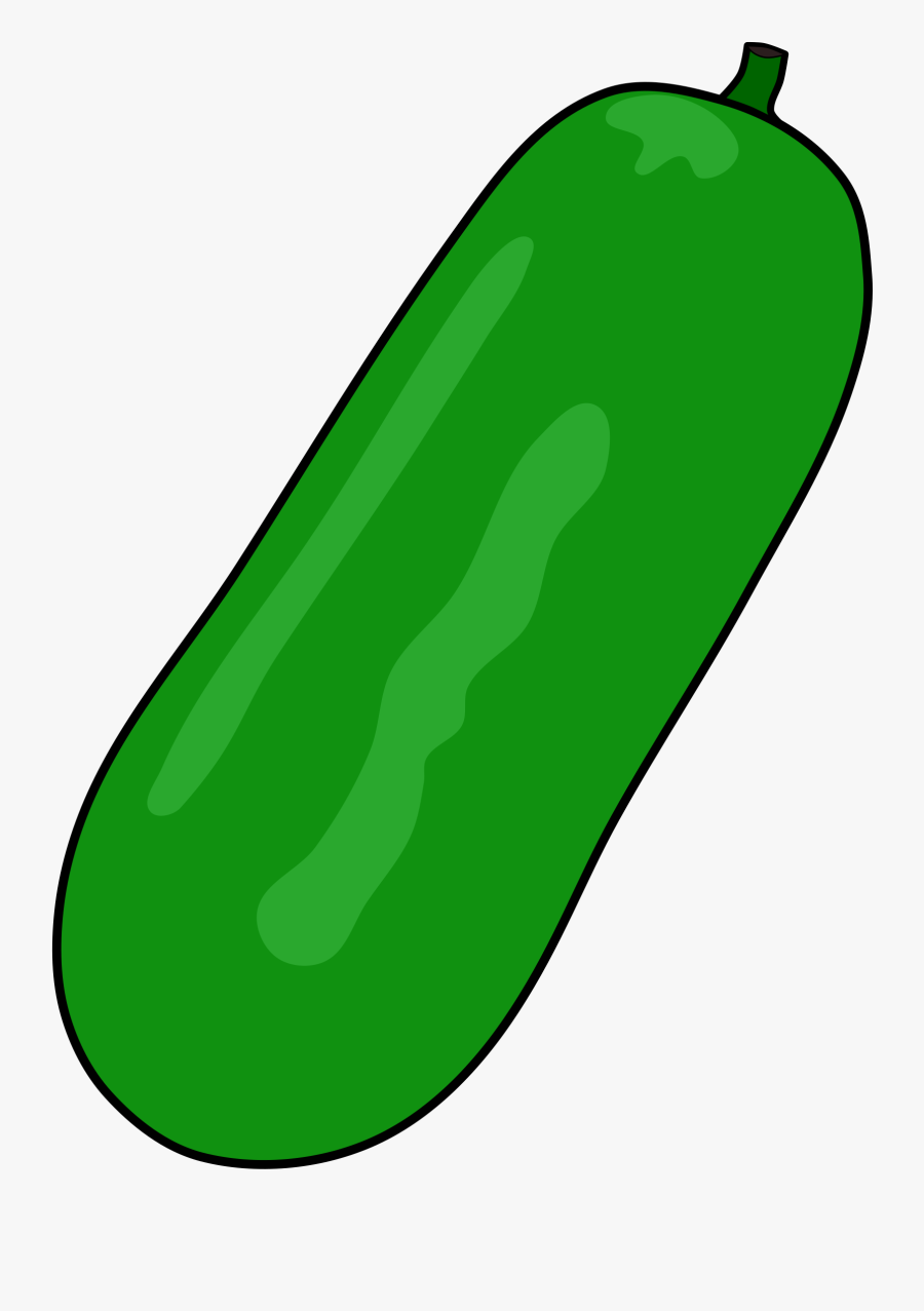 Svg Transparent Cucumber Clipart Dill Pickle.