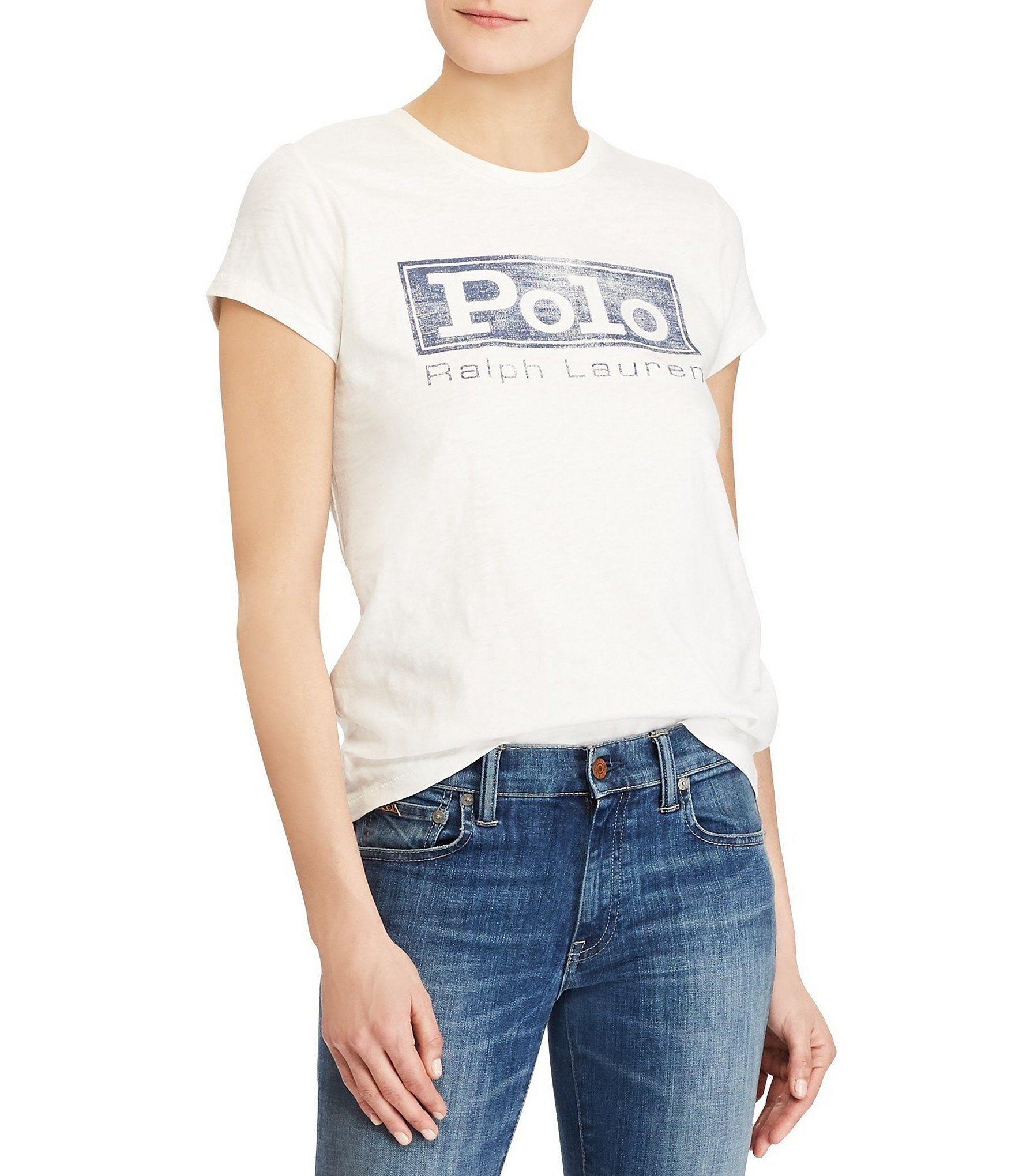 Shop for Polo Ralph Lauren Logo Jersey Graphic T.