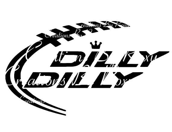 Dilly Dilly Cutting file .svg, dxf, and png.