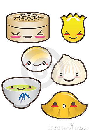 Dim Sum Stock Illustrations.