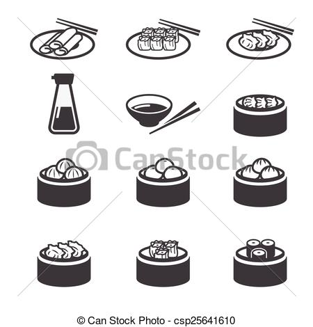 Dim sum Clipart and Stock Illustrations. 227 Dim sum vector EPS.