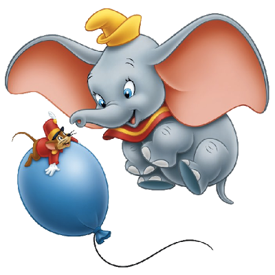 Disney dumbo clipart.