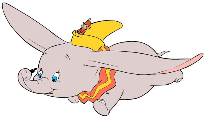 Disney Dumbo Clip Art Images.