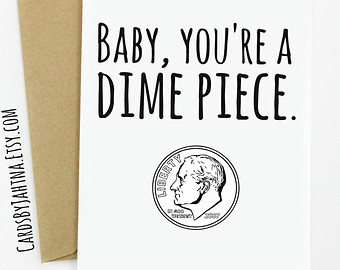 Funny and inappropriate handmade greeting cards by LeSentiments.