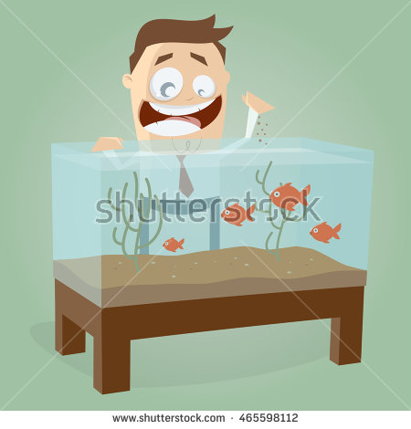 Man din bed clipart.