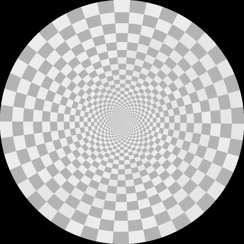 Free Clipart: Figura dinamica concentrica.