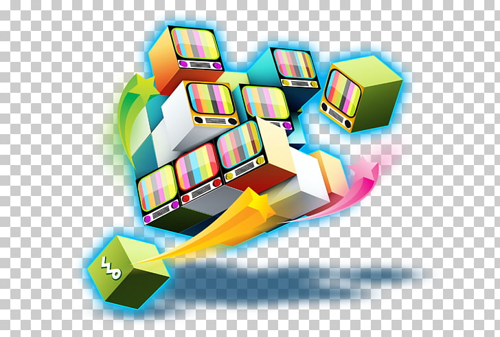 Diseño gráfico del cubo rubiks, cubo dinámico. PNG Clipart.